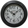 Yosemite CLKA6165CMD 17in. Wall Clock With Black Iron Frame