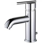 """Yosemite 6 3/4"""" Deck Mount 1-Handle Lavatory Faucet With Pop-Up Drain, Polished Chrome"""