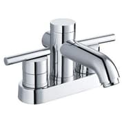 """Yosemite 4 3/4"""" Two Handle Lavatory Faucet With Pop-Up Drain, Polished Chrome"""