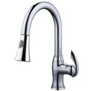 "Yosemite 14.5"" Single-Handle Pull-Out Sprayer Kitchen Faucet, Polished Chrome"