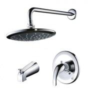"Yosemite 2 3/4"" Single-Handle Pressure Balanced Tub and Shower Faucet, Polished Chrome"