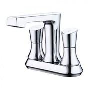 "Yosemite 5 1/2"" Double Handle Centerset Lavatory Faucet, Polished Chrome"