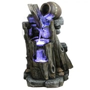 "Yosemite 20.9"" 3 Tiered Fountain, Antique"