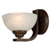 Yosemite Sequoia Wall Sconce, Dark Brown