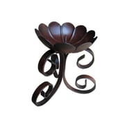 "Yosemite Wall Mount Iron Candle Holder I, Dark Gray, 4 1/2""(H) x 5 1/2""(W) x 4 1/2""(L)"