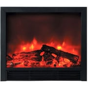 Yosemite Triton Widescreen Floor Standing Electric Fireplace, Black