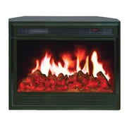Yosemite Juno Electric Insert Fireplace, Black