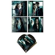 Trend Setters Harry Potter 7 Glass Print Coaster (Set of 4)
