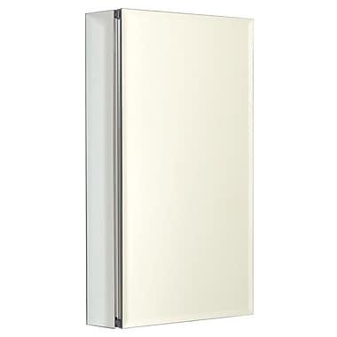 Zenith Designer Series 15'' x 26'' Beveled Edge Medicine Cabinet