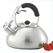 Creative Home Savannah 3-qt. Whistle Tea Kettle; Stainless Steel