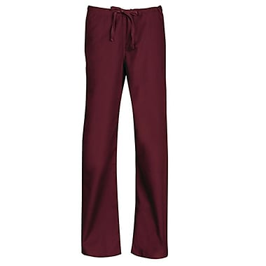 Core 9006 Unisex Seamless Drawstring Pant, Wine, Regular XXS