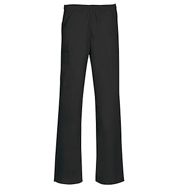Core 9016P Full Elastic Cargo Pant, Black, Petite XL