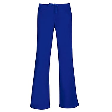 Core 9026X Drawstring & Back Elastic Flare Pant, Royal, Plus 3XL