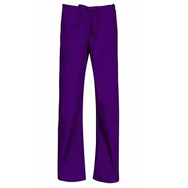 Core 9006 Unisex Seamless Drawstring Pant, Purple, Regular L