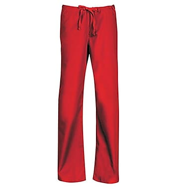 Core 9006 Unisex Seamless Drawstring Pant, Red, Regular XXS
