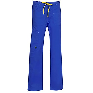 Blossom 9202 Multi-Pocket Utility Cargo Pant, Royal, Regular XS