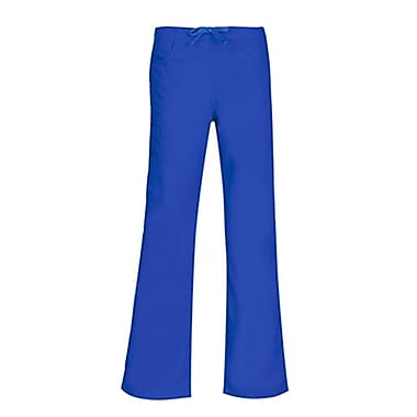 Core 9626 Straight Cargo & Black Elastic Drawstring Pant, Royal, Regular XS