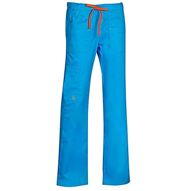 Maevn Blossom 9202 Multi-Pocket Utility Cargo Pants, Pacific Blue