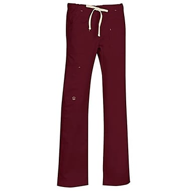 Blossom 9202T Multi-Pocket Utility Cargo Pant, Wine, Tall L