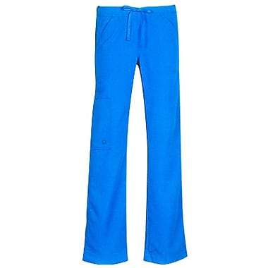 Gravity 9103 Fashion Bootcut Elastic Cargo with Drawstring, Marine Blue, Regular XS