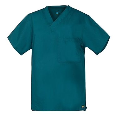 Core 1006X Unisex V-Neck Top, Teal, Plus 3XL