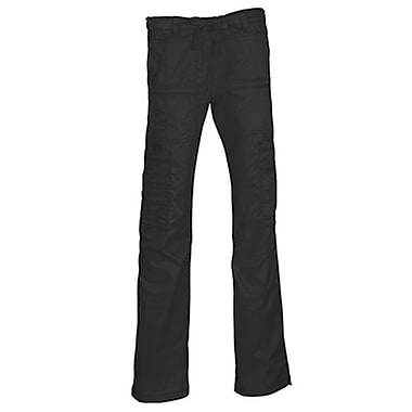 Maevn Blossom 9602P Multi-Pocket Utility Cargo Pants, Black