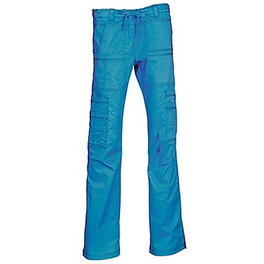 Blossom 9602P Multi-Pocket Utility Cargo Pant, Pacific Blue, Petite XL