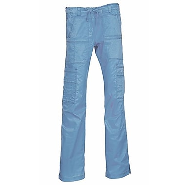 Blossom 9602 Multi-Pocket Utility Cargo Pant, Ceil Blue, Regular XL