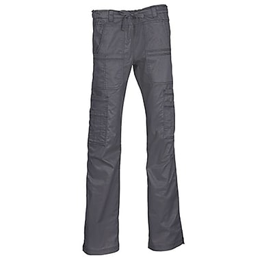 Blossom 9602 Multi-Pocket Utility Cargo Pant, Charcoal, Regular XS