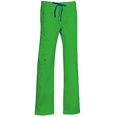 Maevn Blossom 9202 Multi-Pocket Utility Cargo Pants, Apple Green