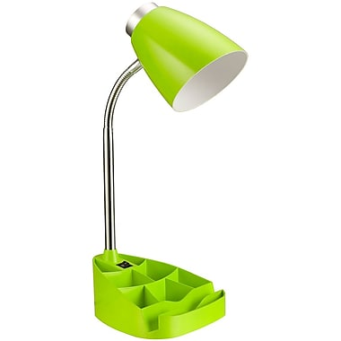 All the Rages Limelights LD1002-GRN Organizer Desk Lamp, Green