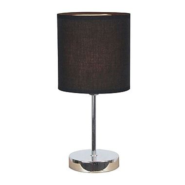 All the Rages Simple Designs LT2007 Chrome Table Lamp