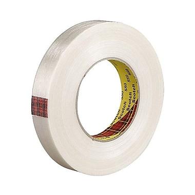 3M™ Scotch® 12 mm x 55 m x 7.7 mil Filament Tape, Clear
