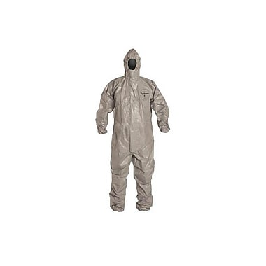 DuPont® Tychem® F Respirator Fit Hood Coverall, Gray, Small