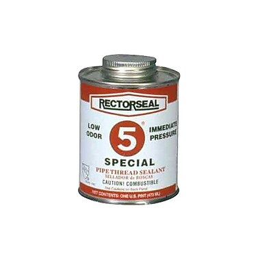 Rectorseal® Tru-Blu™ Pipe Thread Sealant, 1 qt. Can