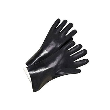 Ansell® Petroflex Chemical Resistant PVC Gloves, Black, XL