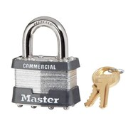 Master Lock® 5 Pin Keyed Alike Laminated Padlock With 0.9375 Shackle
