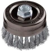 "Advance Brush 4"" Standard Twist Knot Wire Cup Brush"