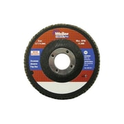"Weiler® Vortec Pro® 40 Grit High Density Flap Disc With 5/8"" Arbor Hole, 4 1/2"""