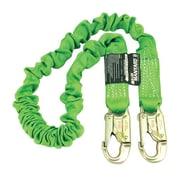 Miller® Manyard II 6' Stretchable Web Lanyard With Two Locking Snap Hooks