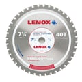 Lenox® 21881 Metal Cutting Circular Saw Blade, 40 TPI