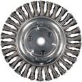 PFERD Advance Brush 8in. Full Cable Twist Knot Wheel Brush