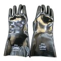 Showa Best Glove® 14in. Gauntlet Fully Neoprene Coated Gloves, Black, Large
