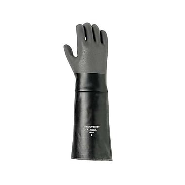 Ansell® Thermaprene Heat Resistant Neoprene Gloves, Black, 10
