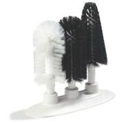 9-1/2 3-Brush Sparta® Manual Glass Washing Brush