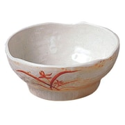 Thunder Group 24 oz Donburi Rice Soba Bowl - Gold Orchid Collection