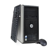 Refurbished Dell 745 TW-1.8-500GB-4GB, Intel Core 2 Duo Windows 7 Pro