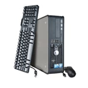 Refurbished Dell 780 SFF-3.0-160GB, 4GB, Intel Core 2 Duo Windows 7 Pro