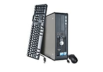 Refurbished Dell OptiPlex 780 SFF Intel Core 2 Duo Processor, 1 TB HDD, 4 GB RAM, Windows 7 Home Desktop PC