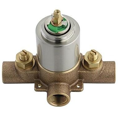 Elements of Design Vintage Pressure Balanced Tub Valve and Shower; Satin Nickel